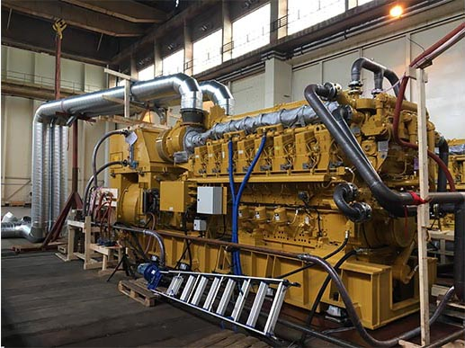 Successful delivery of 4 Caterpillar C280 gensets