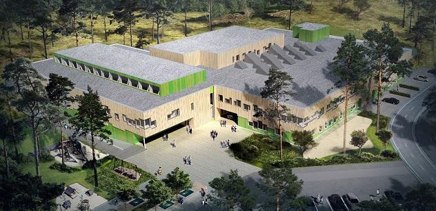 Rustad school, Ås